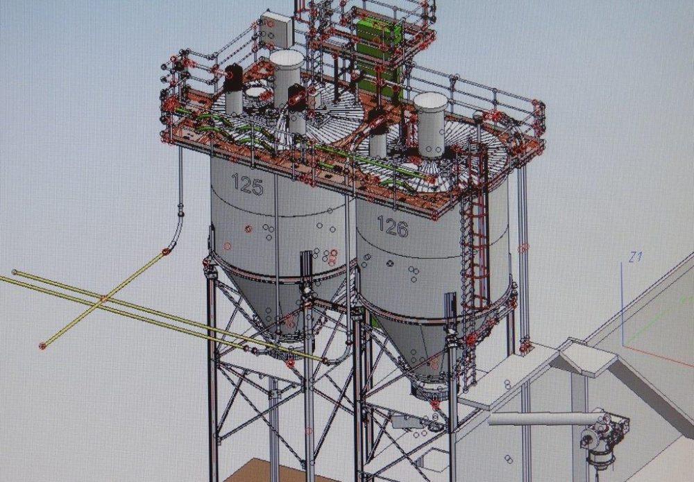Engineering silo
