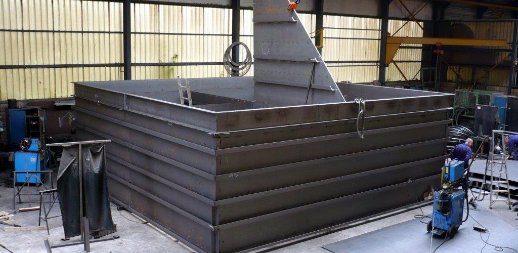Zand-/grindbunker