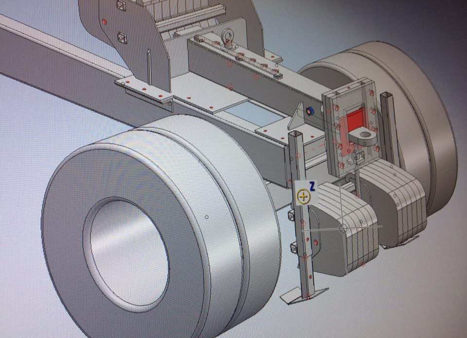 Verstelbare trekhaak engineering